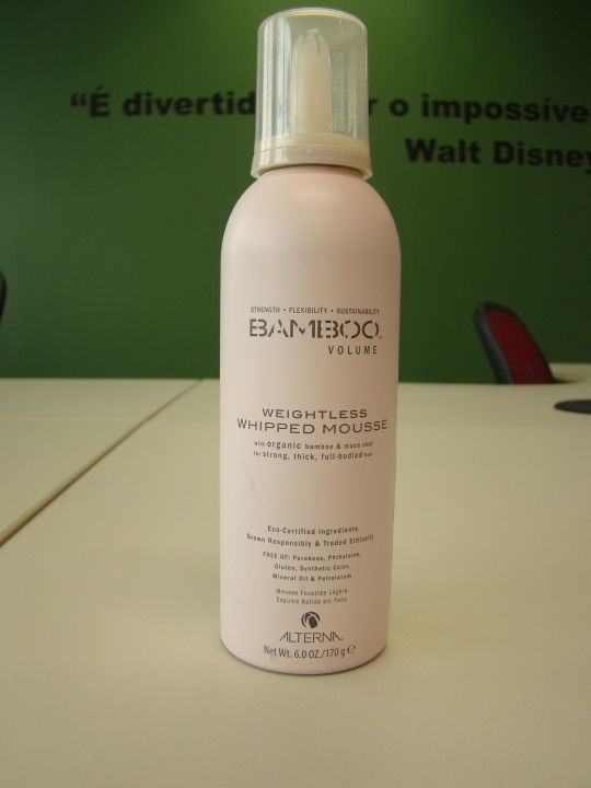 Mousse Bamboo Volume Weightless Whipped Mousse
