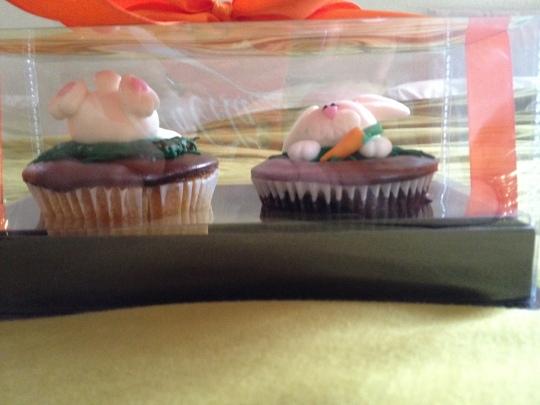 Cupcakes de coelhinho