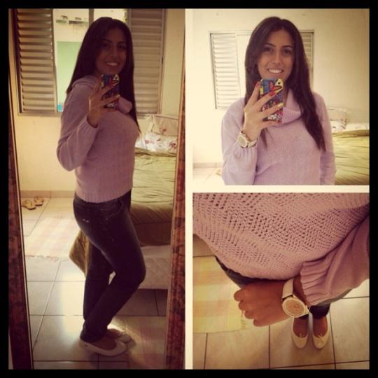 Malha e Jeans Donna Z, Sapatilha Lacoste