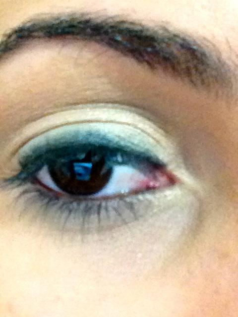 no olho