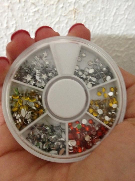cristais de acrílico
