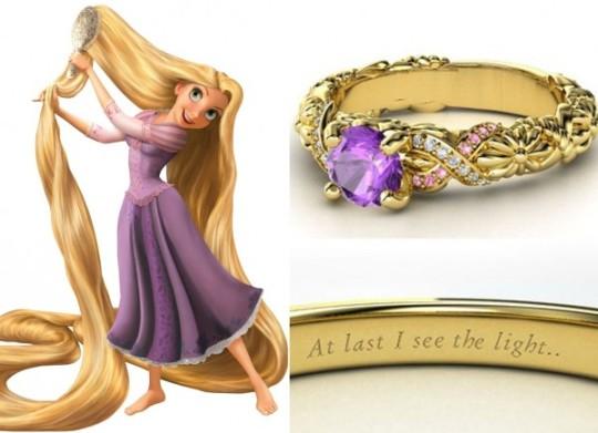 Rapunzel - turmalina pink, ametistas e diamantes ($ 1.285)