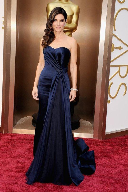 Sandra Bullock de Alexander McQueen