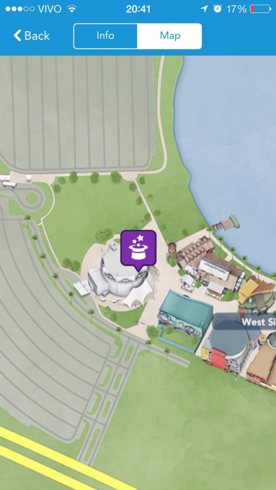 Veja onde as atrações estão localizadas