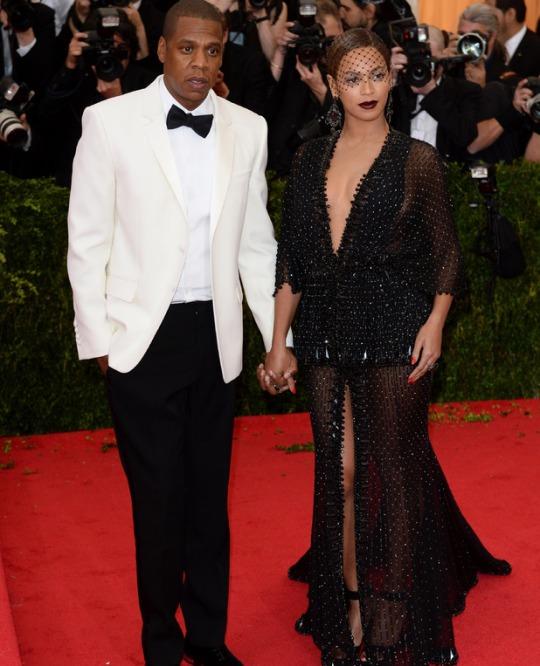 Jay Z e Beyonce (Givenchy)