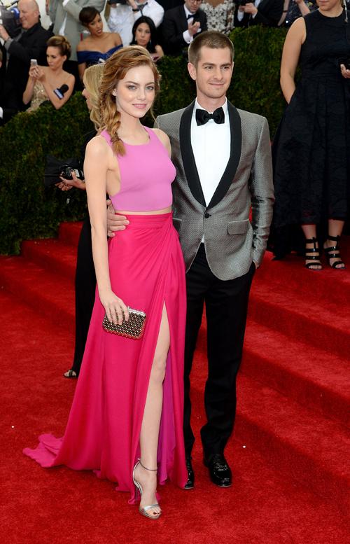 Andrew Garfield e Emma Stone (Thakoon)