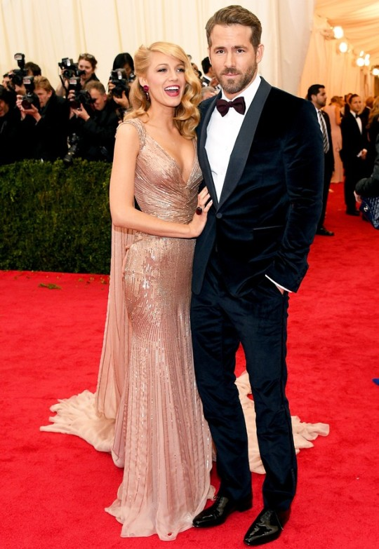 Ryan Reynolds e Blake Lively (Gucci)